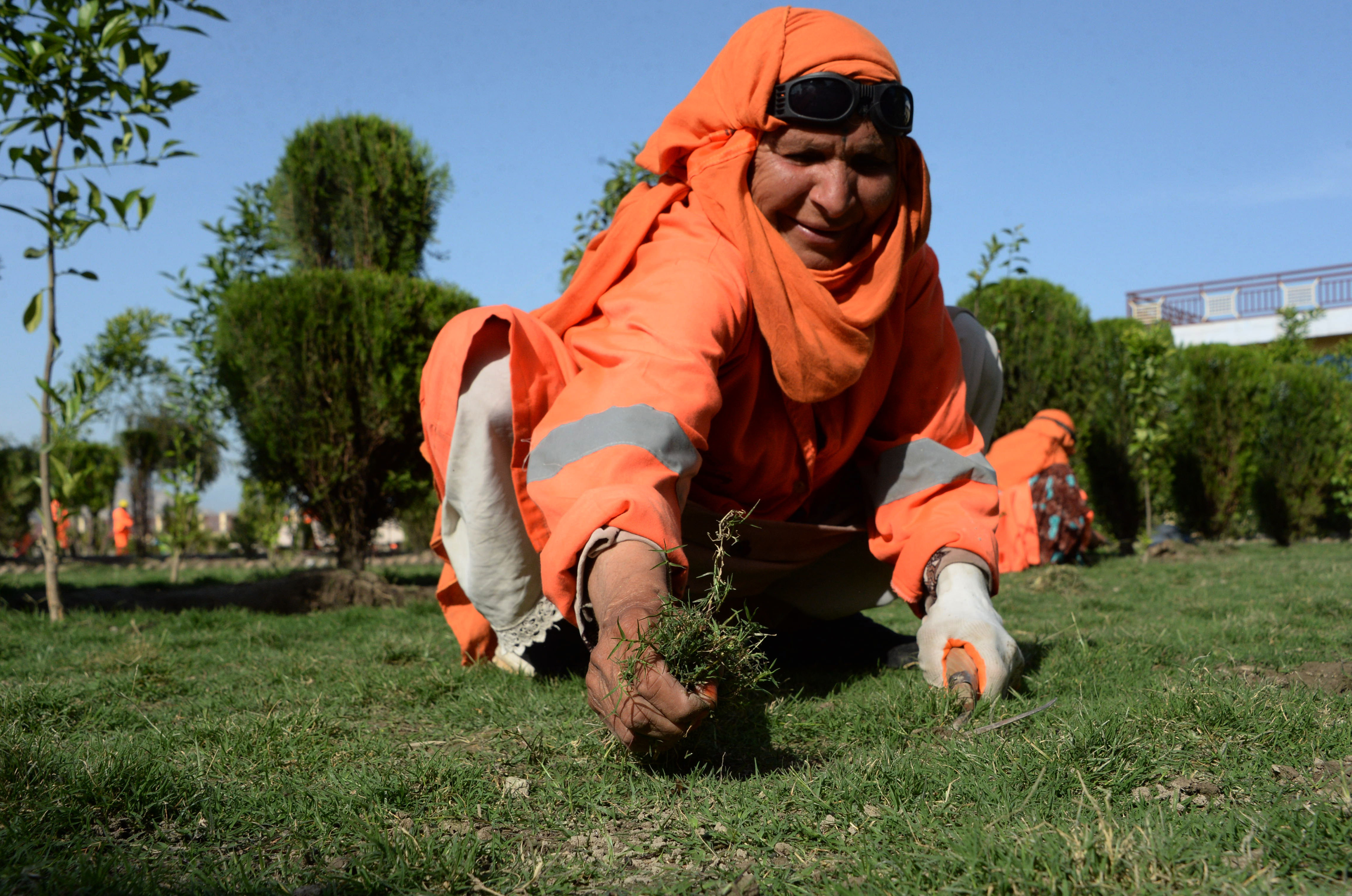 Changing Afghan women's lives through municipal work