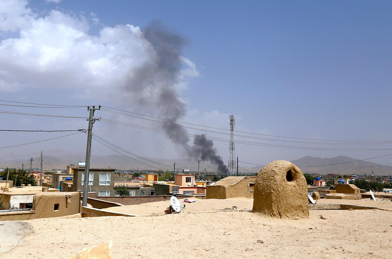 ورود نیروهای بیشتر به غزنی همزمان با مخفی شدن جنگجویان طالبان در خانه های ملکی