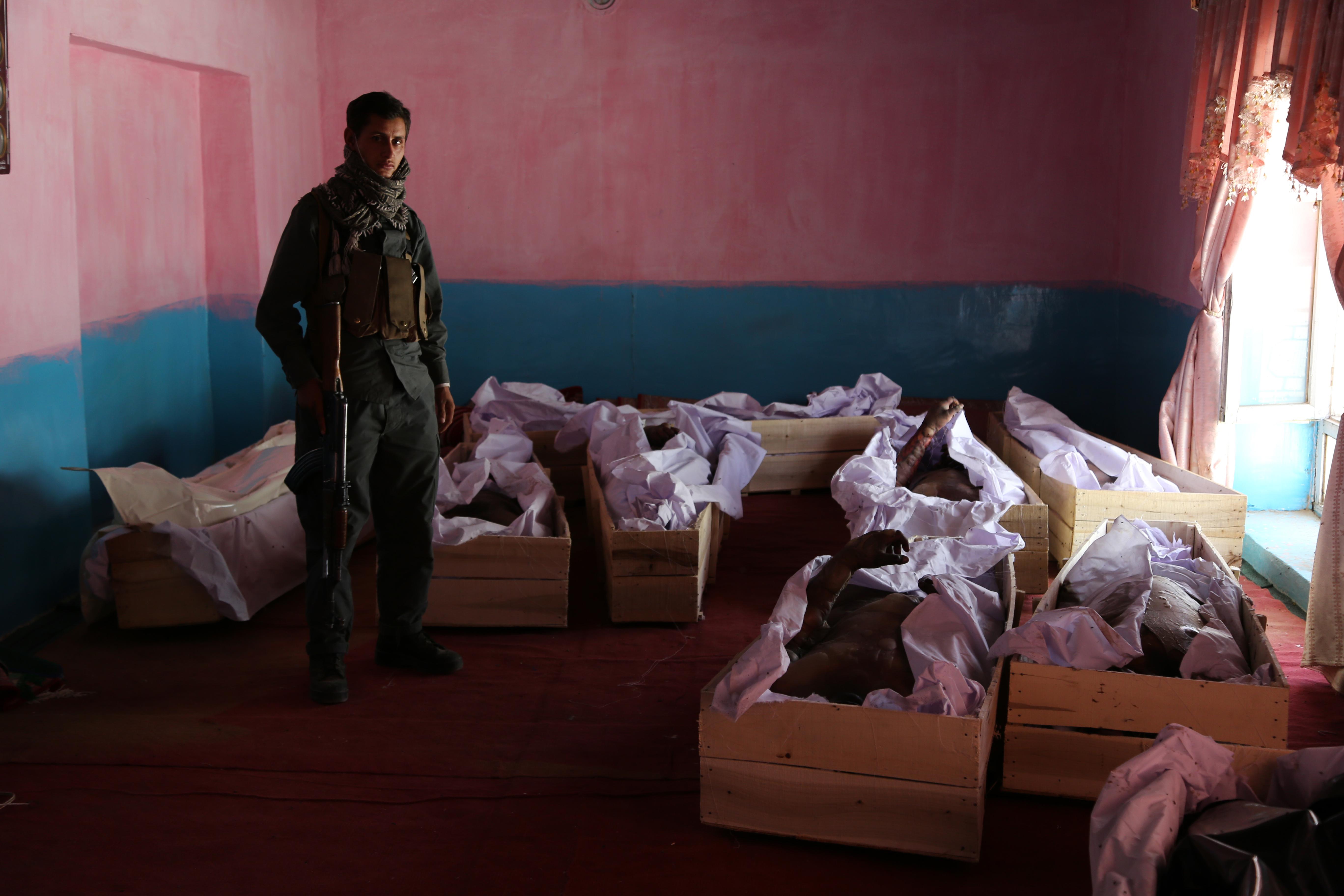 Afghans reel from Taliban's blood-soaked rampage in Ghazni