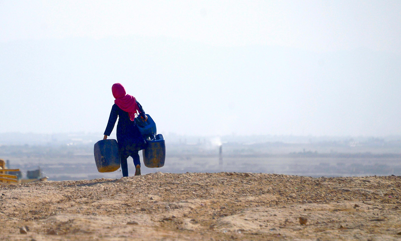 رفتن دهاقین افغان به شهرها در اثر خشکسالی بی سابقه در ساحات روستایی
