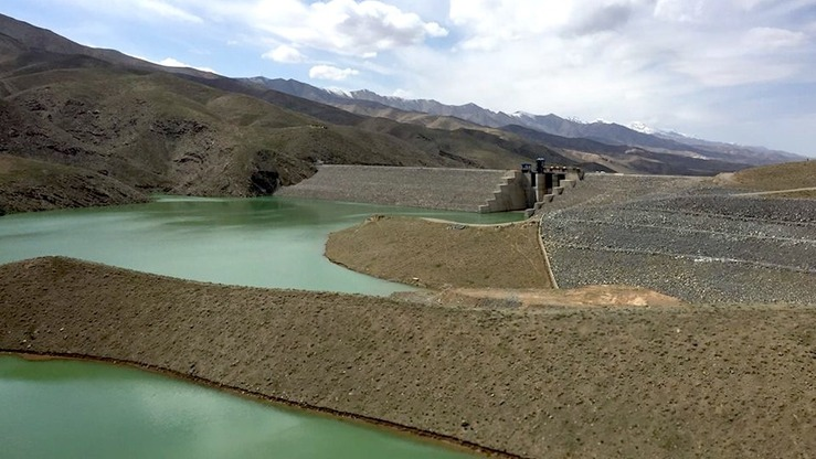 The Afghan-India Friendship Dam, formerly Salma Dam, is shown in Herat Province April 13, 2016. [Nasir Salehi]