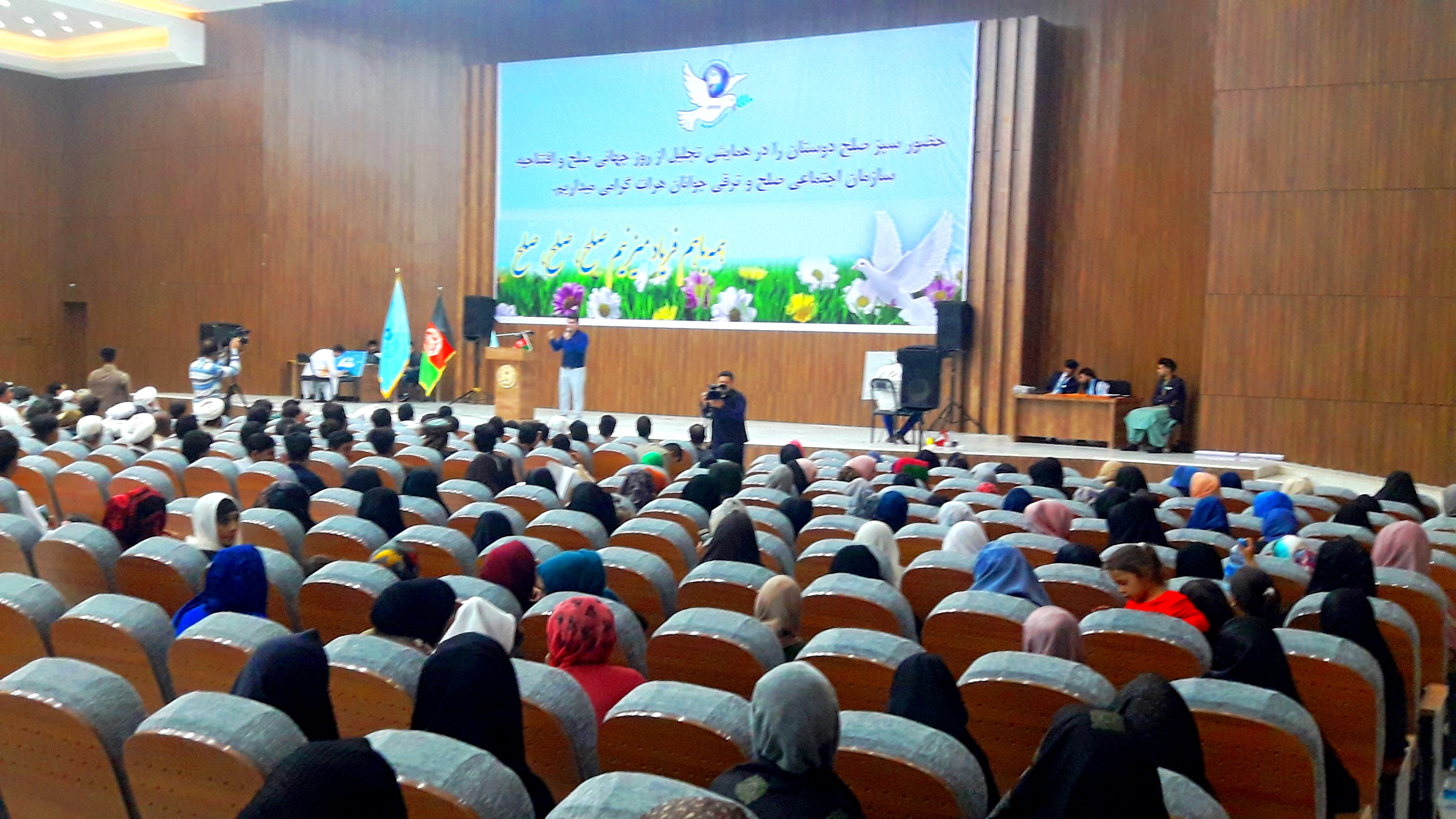 Herat women urge Taliban to lay down their weapons