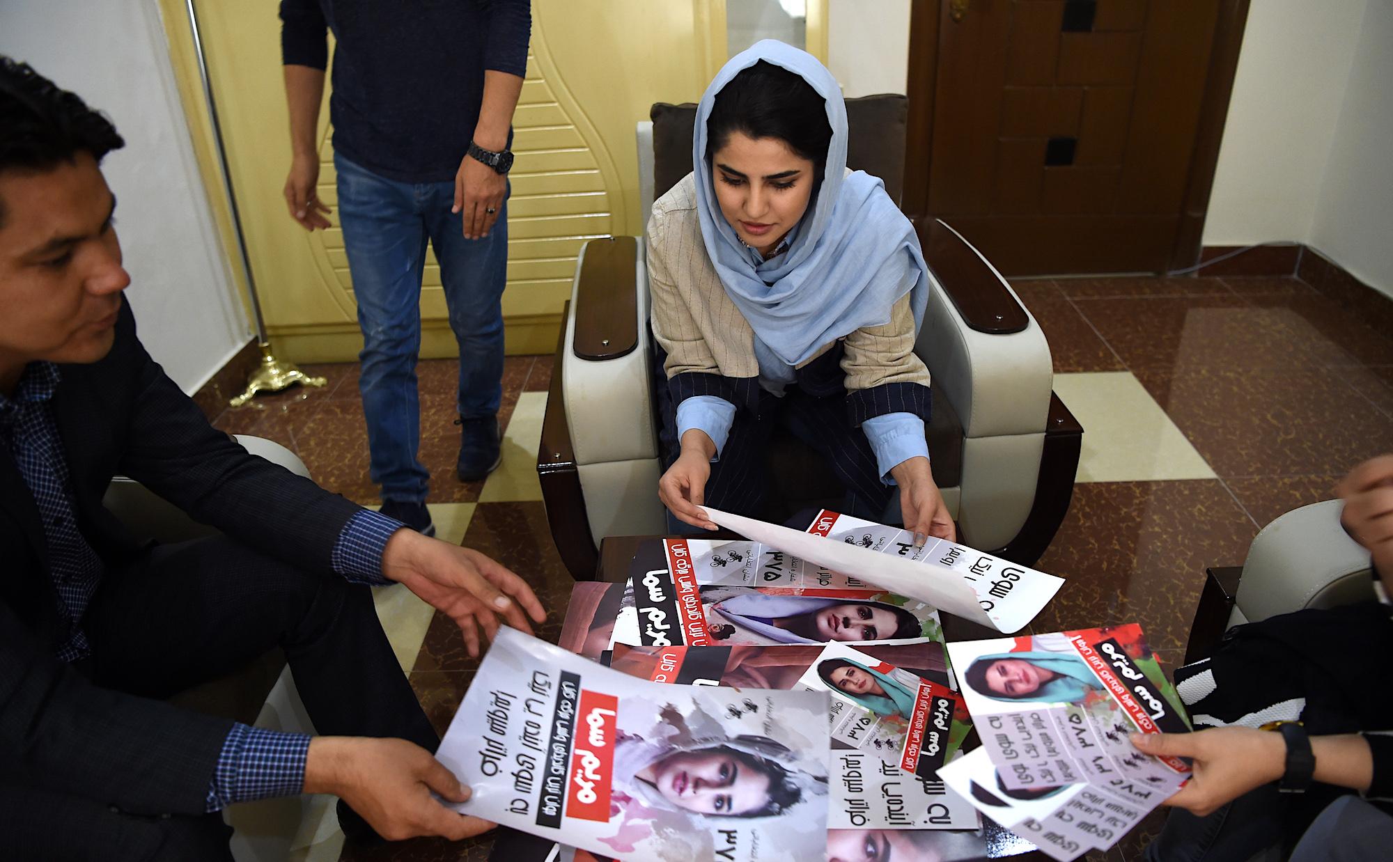 د افغانستان د ولسي جرګې کاندیدانو په رسمي توګه انتخاباتي کمپاینونه پیل کړل