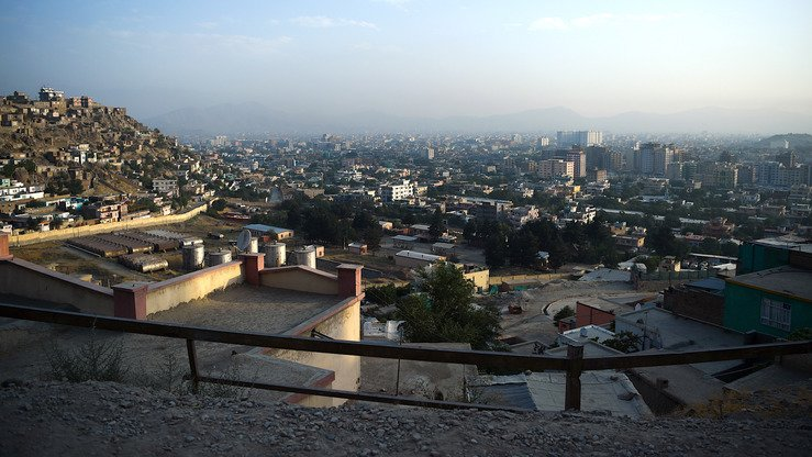 Kabul is shown from a hillside June 19. [Wakil Kohsar/AFP]