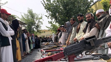 Scores of Taliban militants join peace process in Nangarhar
