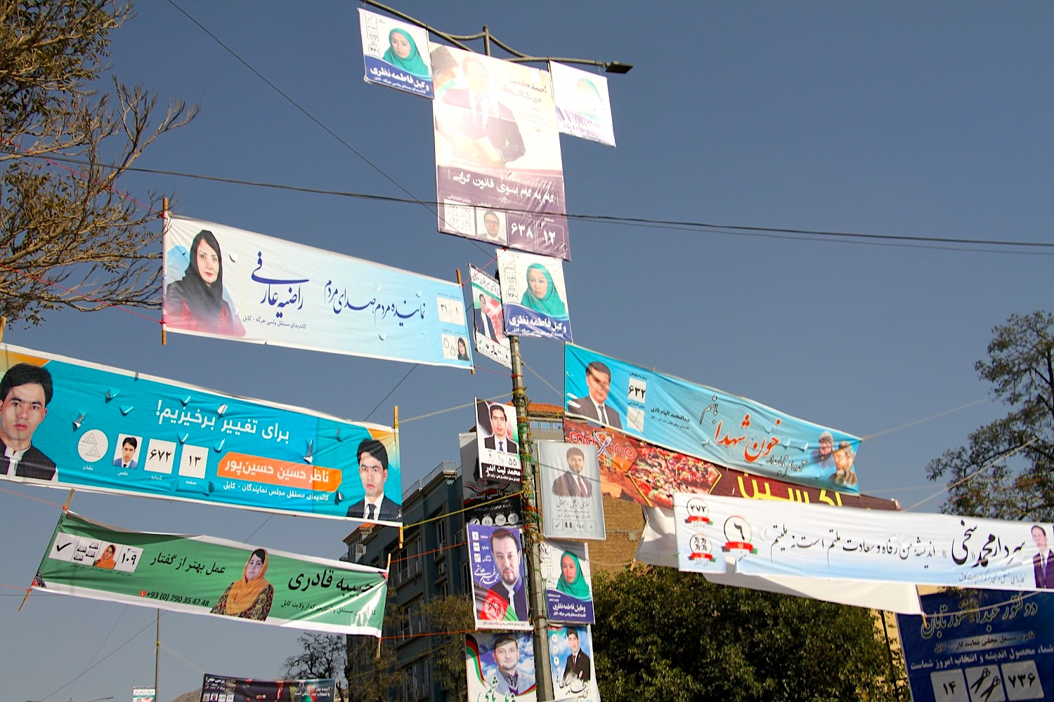 The price of democracy: Afghans willing to risk their lives to vote