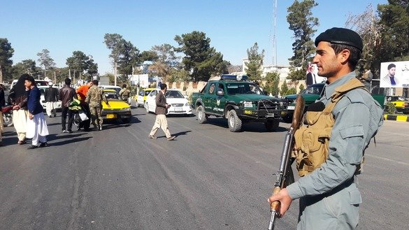 Afghan forces prepared to secure parliamentary elections