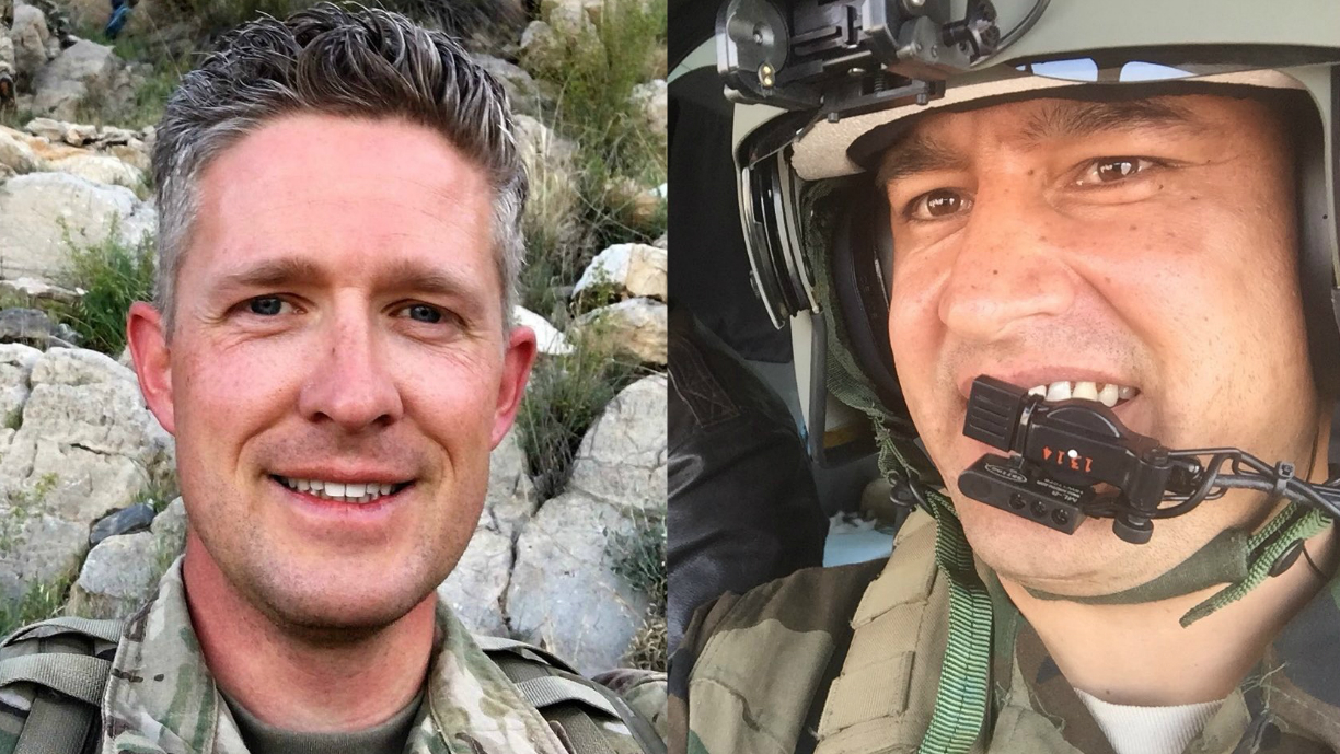 Afghan pilot pens emotional letter to family of slain US soldier