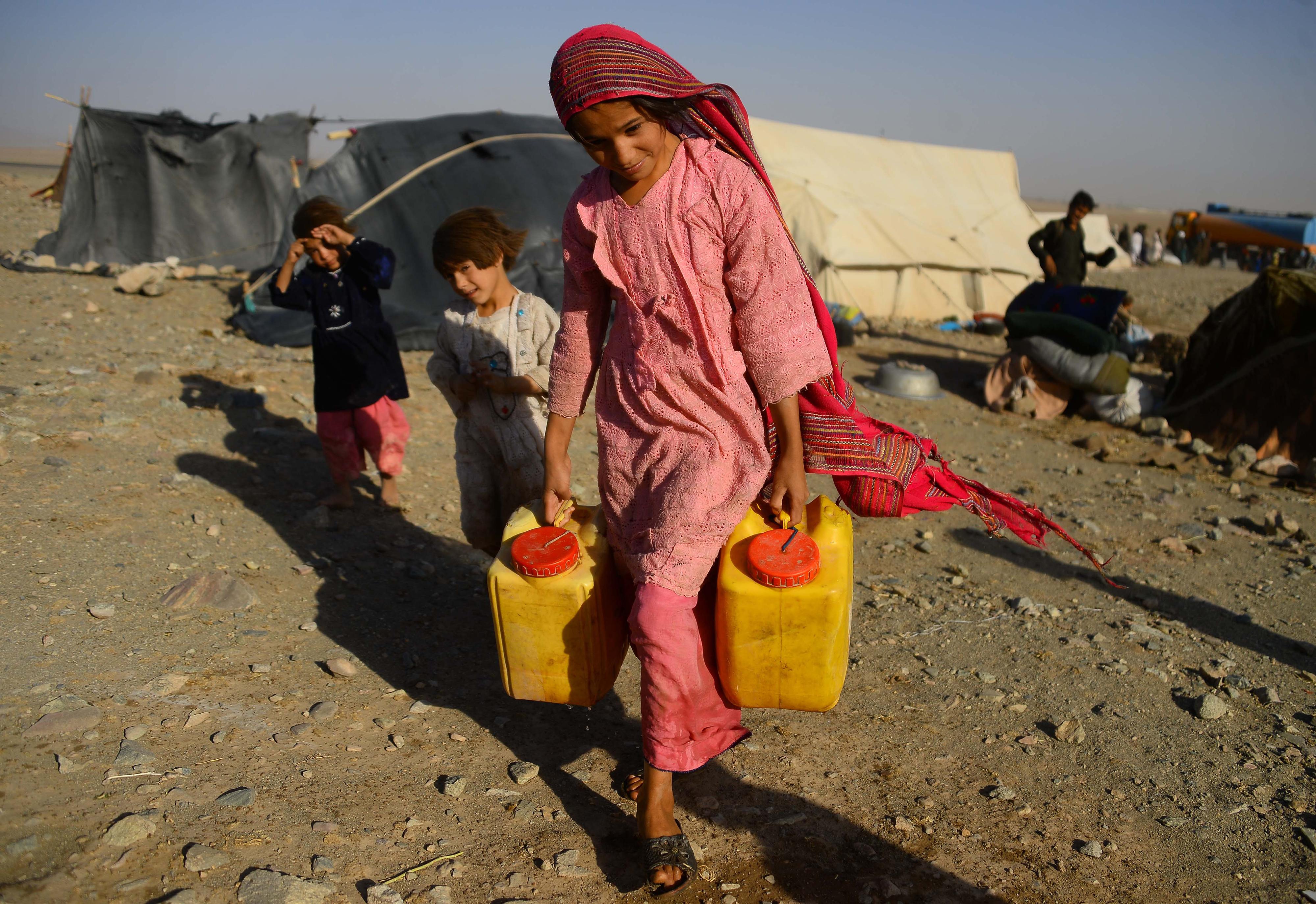 طالبان به بهانه خشکسالی درخواست کمک های «بشری» کرده اند