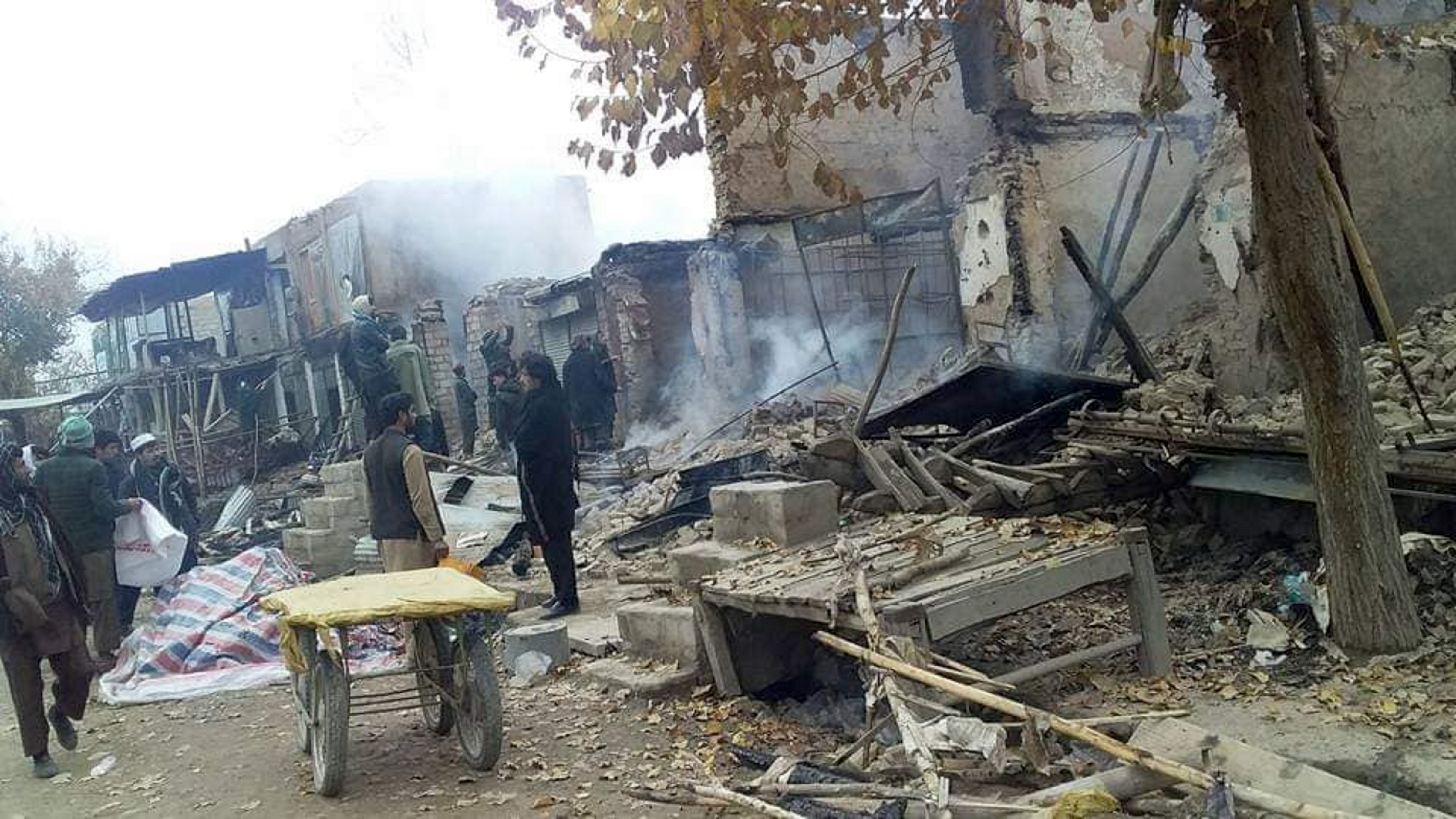 Taliban's destruction of bazaar in Baghlan leads to massive financial loss