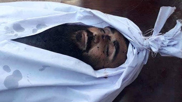 Dead Taliban leader Abdul Manan is shown in an undated photo. [Helmand provincial governor's press office]