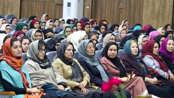 More than 500 women gathered December 5 in Herat Province to call on women to play a vital role in bringing peace in the country. [Omar]