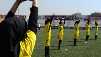 Afghans welcome government probe of sexual abuse in women's football