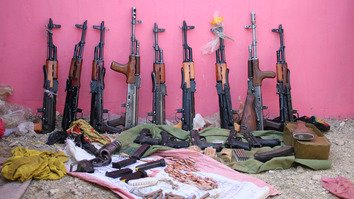 Taliban arms cache in Ghazni points to Iran's efforts to expand war