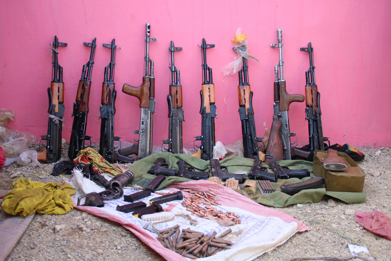 مخفیگاه سلاح های طالبان در غزنی بیانگر تلاش های ایران برای گسترش جنگ است