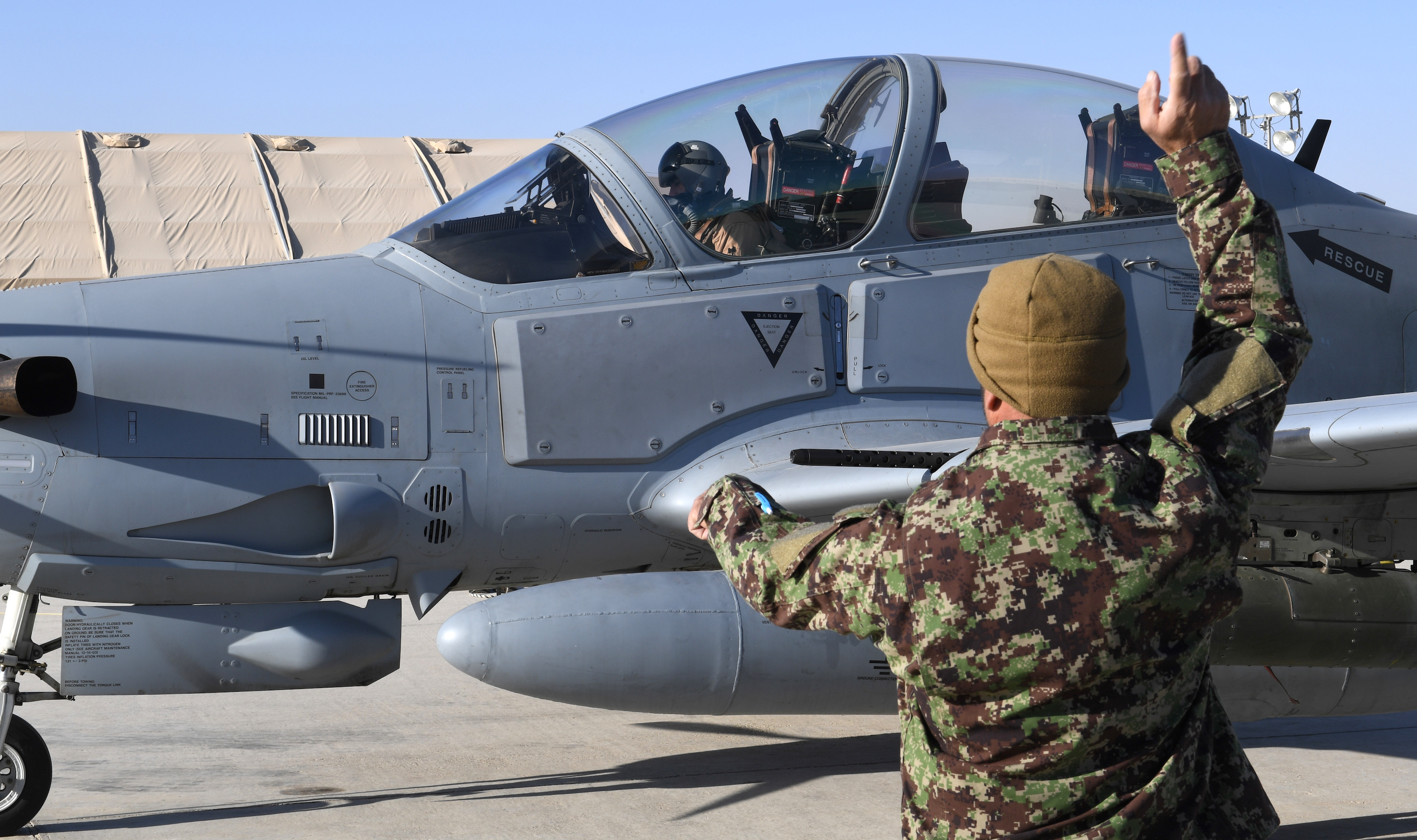 Afghan Air Force's new night capabilities represent growing threat to militants