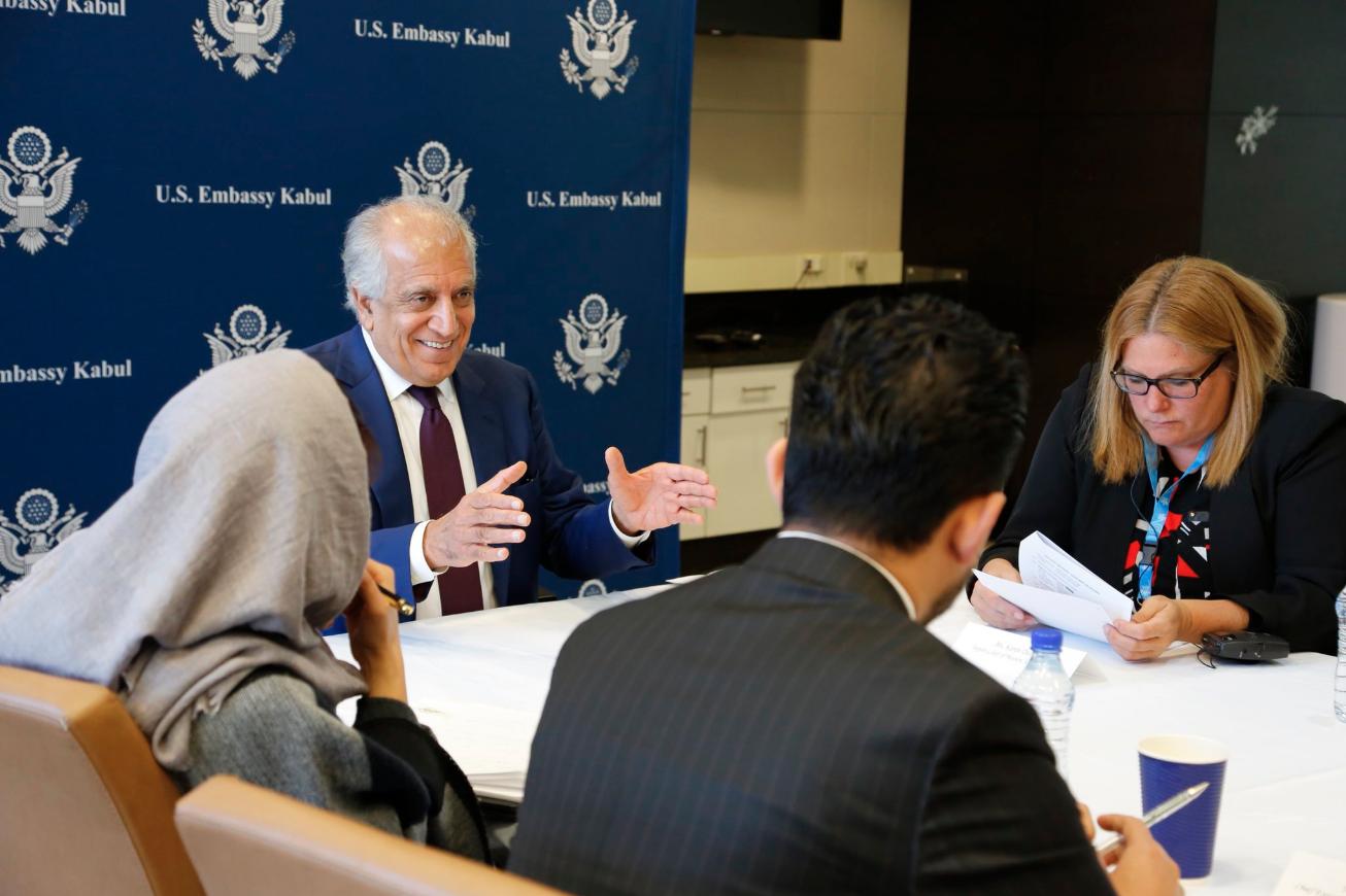 بازگشت فرستاده ویژه ایالات متحده به منطقه برای گفتگوهای صلح افغانستان