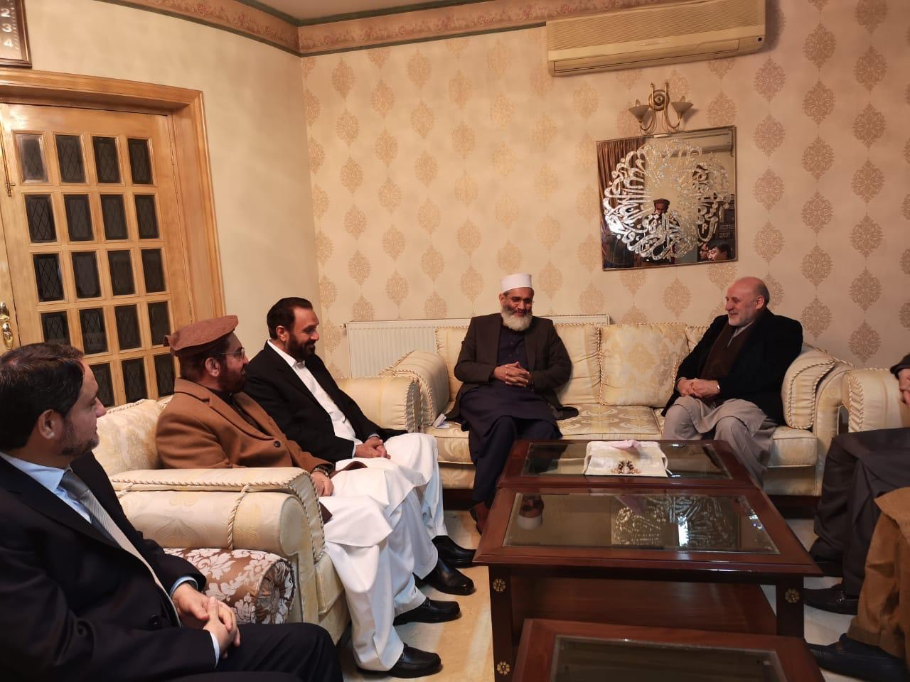 Afghan peace delegation concludes 4-day visit to Pakistan