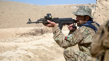 Afghan forces keep up military pressure on Taliban during winter months