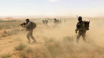نیروهای امنیتی افغانستان طالبان را از ده ها قریه در فراه بیرون راندند