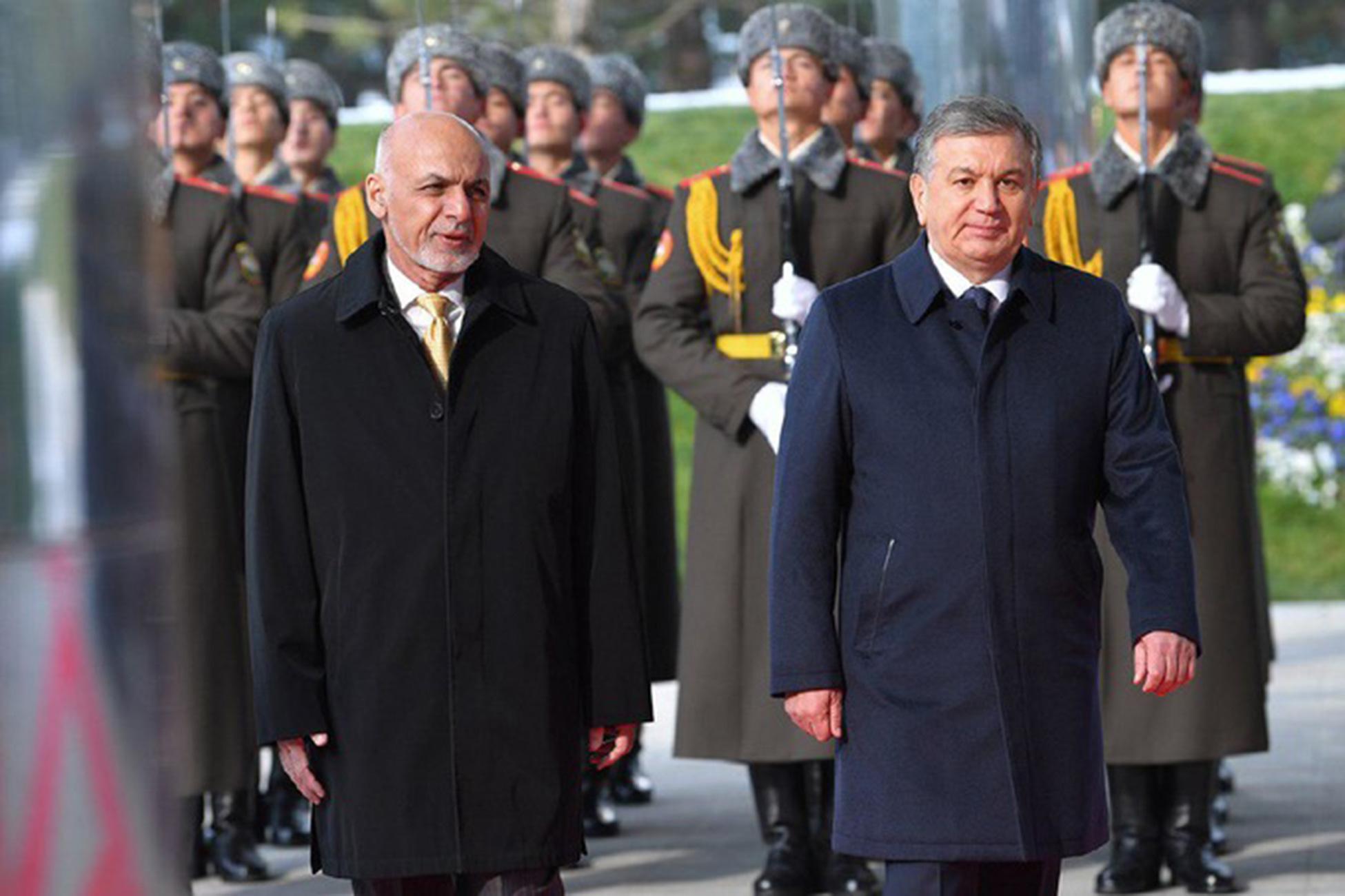 افغانستان د ازبکستان د ۲۰۱۹ د بهرنۍ پالیسۍ عمده برخه جوړوي