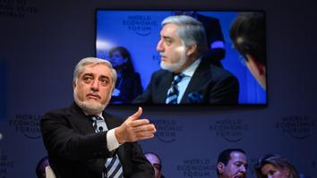 عبدالله در جریان مجمع جهانی اقتصاد سرمایه گذاران را به افغانستان دعوت می کند