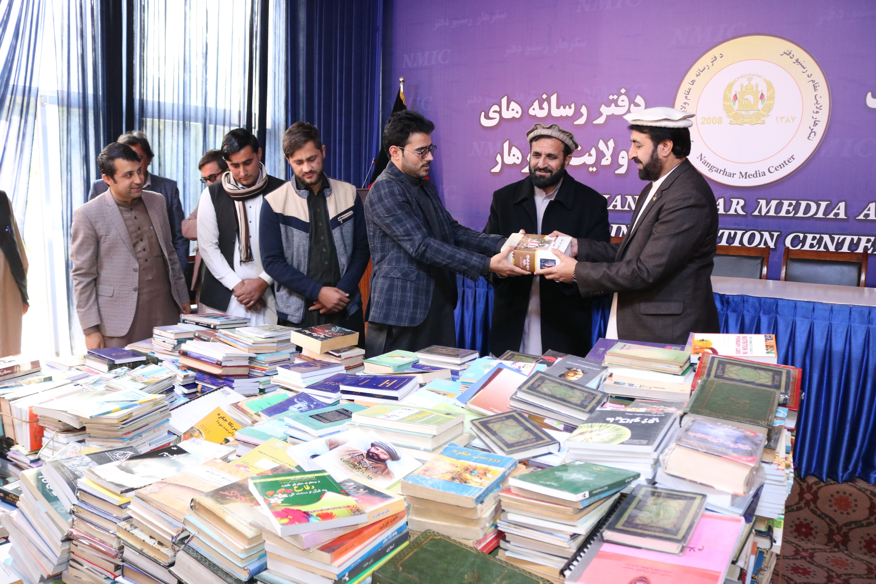 Volunteers collect more than 8,000 books for Jalalabad public library