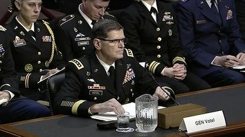 Commander of US Central Command Gen. Joseph L. Votel on February 5 in Washington addresses the US Senate Armed Services Committee on the defence budget request for his command in fiscal year 2020. [US Department of Defence]