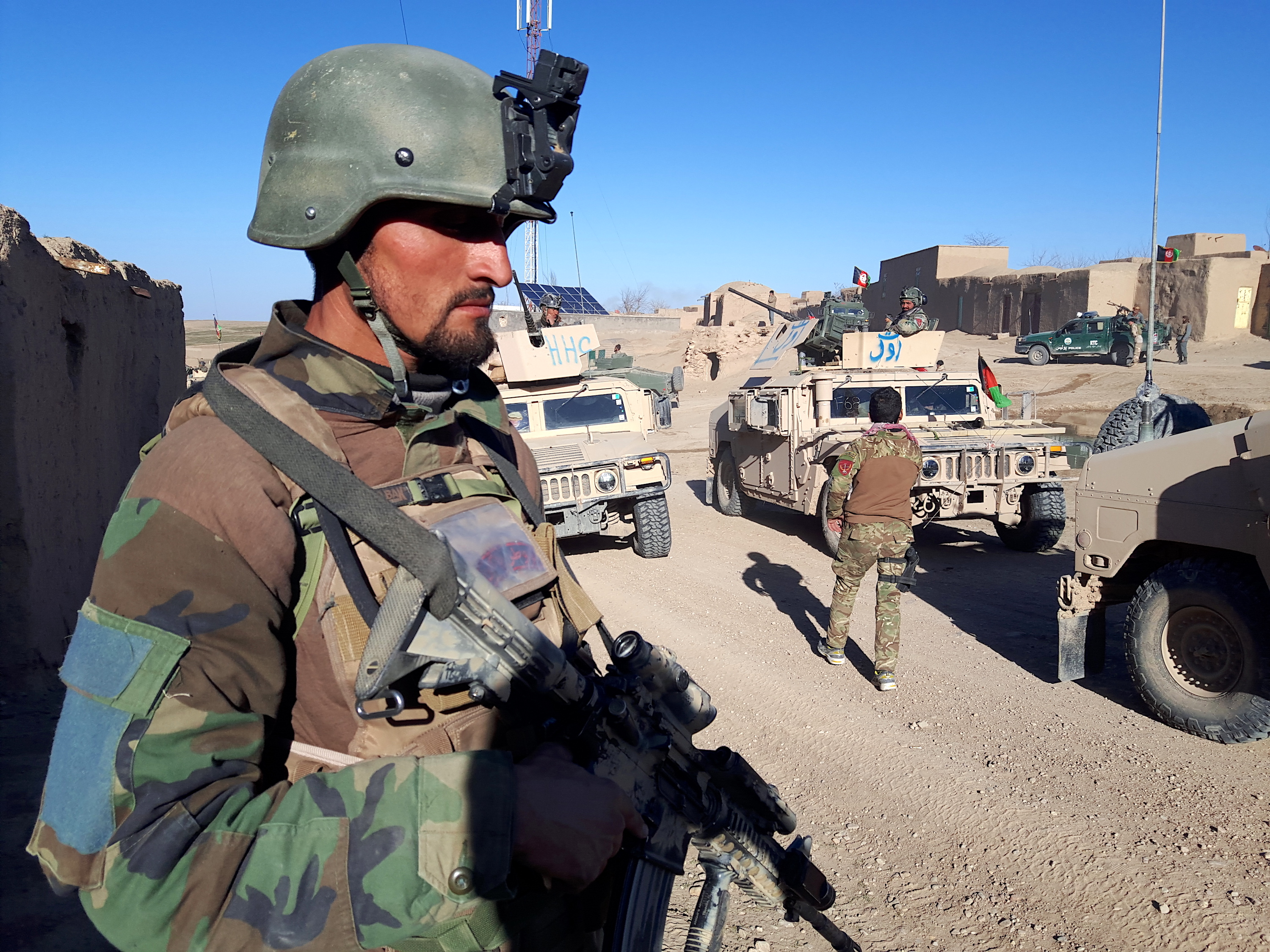 Afghan forces destroy Taliban torture facility in Herat