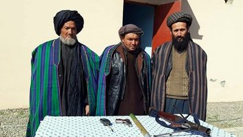'We have had enough of war', say surrendering Taliban fighters in Faryab