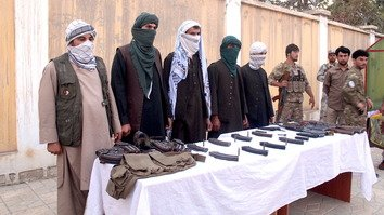 A group of five Taliban fighters joined the peace process last September in Kunduz city. [Hedayatullah]