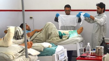 Doctors treating civilian war victims face daily horrors of conflict