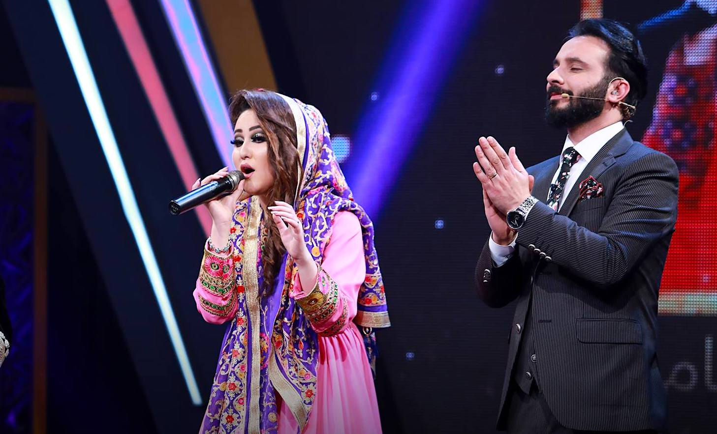 Zahra Elham becomes 1st woman to win on Afghan Star