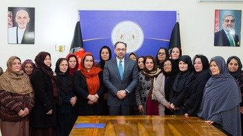 Afghan women's rights 'absolute red line' in Taliban talks, says Rabbani