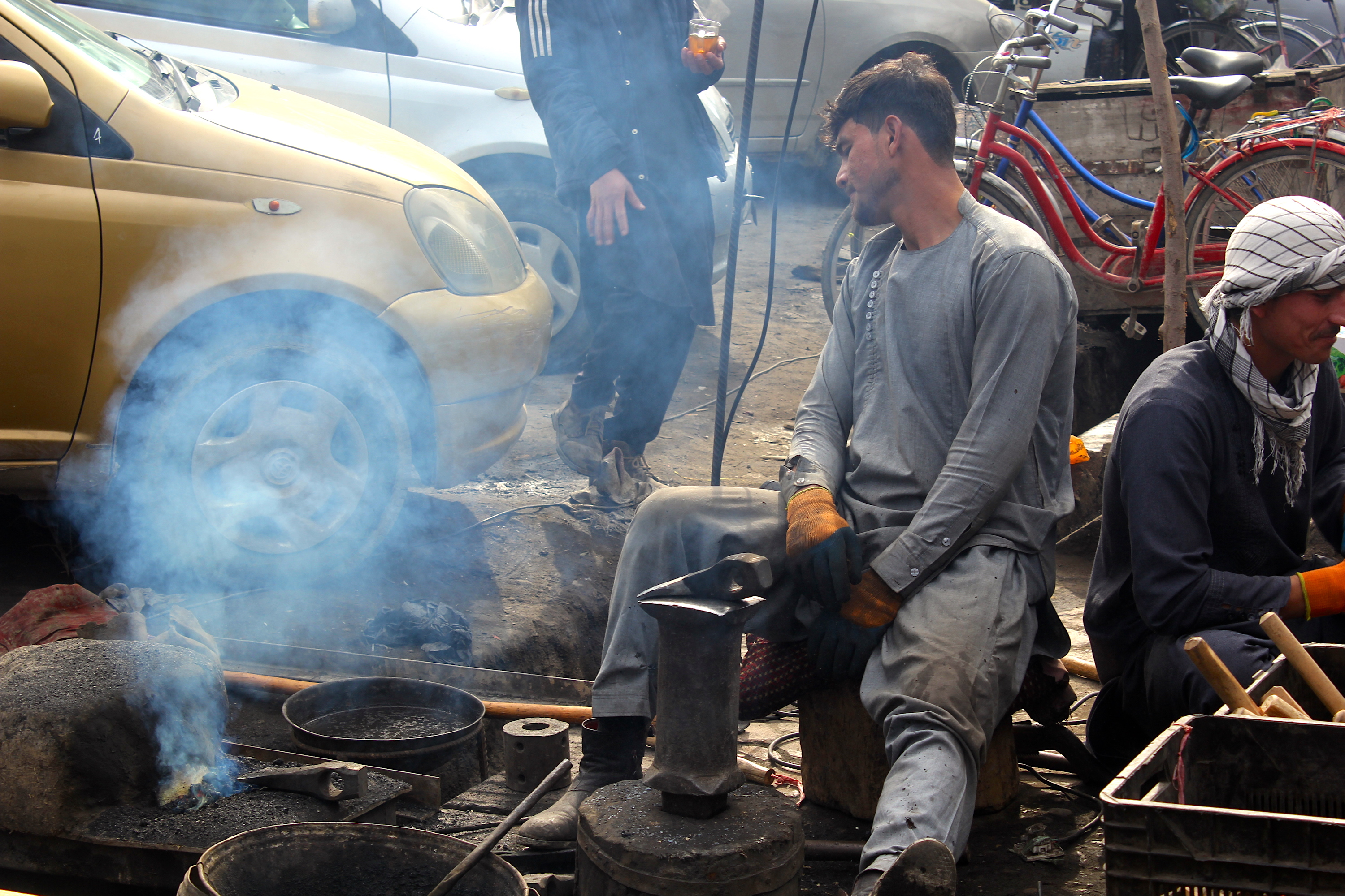 Kunduz residents flourish in business amid optimism for peace