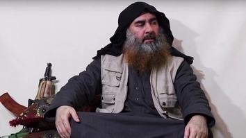 د داعش پټ شوی او مات شوی مشر په ۵ کالو کې په لومړي ځل راڅرګند شو