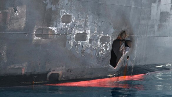 US releases more incriminating evidence of Iranian regime's role in tanker attacks