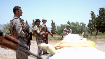 Afghan border forces, police block Taliban drug trafficking route in Herat