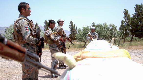 Afghan border forces, police block Taliban drug trafficking