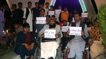 Herat residents disabled by Taliban urge militants to cease terrorist acts