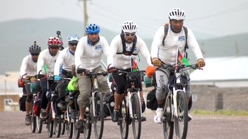 Pedaling for peace: Afghan cyclists deliver message of hope on 4,000km journey