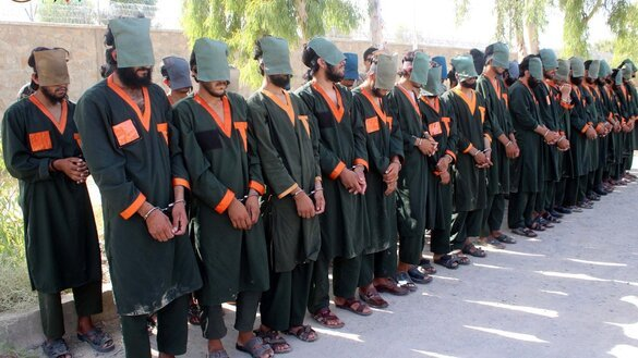 Afghan forces capture 40 Taliban militants in Kandahar
