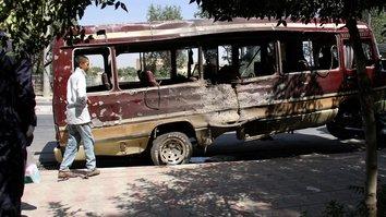 داعش و طالبان  کابل را با سه بم گذاری جداگانه مورد حمله قراردادند