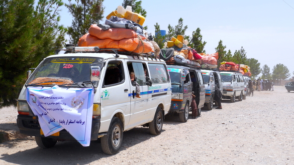 Internally displaced Afghans from western provinces return home as security improves
