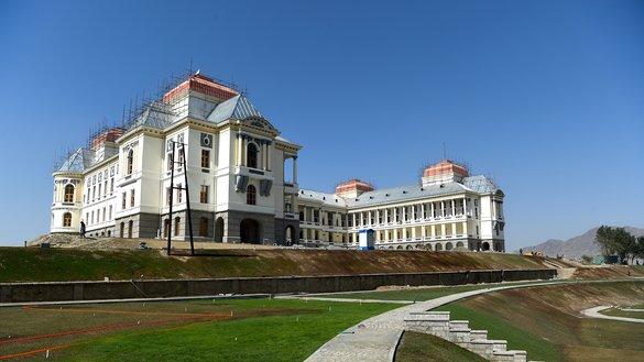 قصر دارالامان از خرابه ها به حیث پیام صلح بیرون آمد