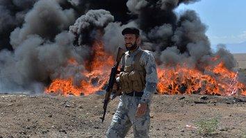 رژیم ایران 'پشتیبانی گسترده' از قاچاقچیان مواد مخدر افغان را فراهم می کند