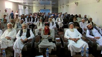 Nangarhar rally urges Taliban to show willingness to end war