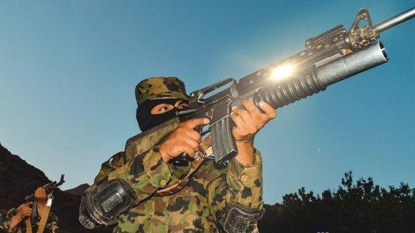 آموزش نظامی طالبان در جریان مذاکرات، سخنان خودشان را نفی کرد