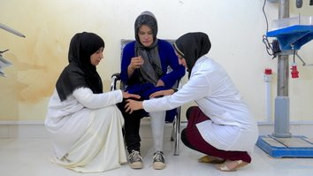 Herat prosthetists give war-disabled a new start