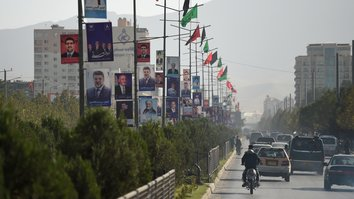 More than 100,000 security forces to protect Afghans on election day
